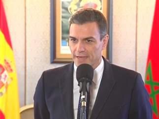 """Sánchez en Marruecos: """"Se ha visibilizado el extraordinario nivel de las relaciones"""""""