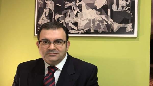 Gerente del Área de Salud Don Benito-Villanueva, Vicente Caballero