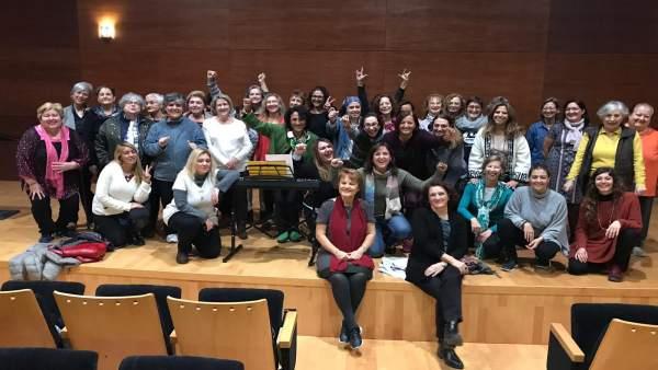 El coro de mujeres municipal de València 'Acordonades'
