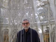 Jaume Plensa en el Palacio de Cristal