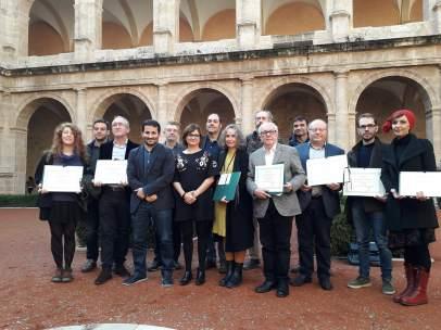 Lliurament dels premis als llibres millor editats