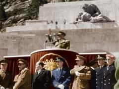 Franco en el Valle de los Caídos
