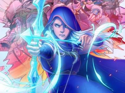 'League of Legends', en comic