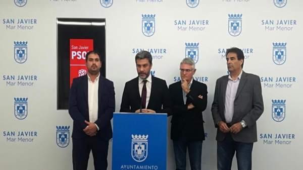 López y Guillamón, reunidos con los portavoces municipales