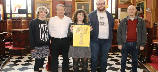 El cartel titulado 'El símbolo de la ciudad' de Jaume Vich García ilustrará las fiestas de Sant ...