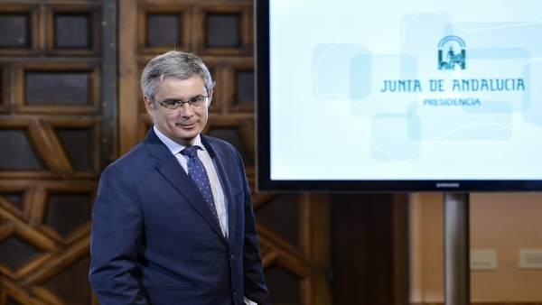 Rueda de prensa posterior a la reunión semanal del Consejo de Gobierno de la Ju