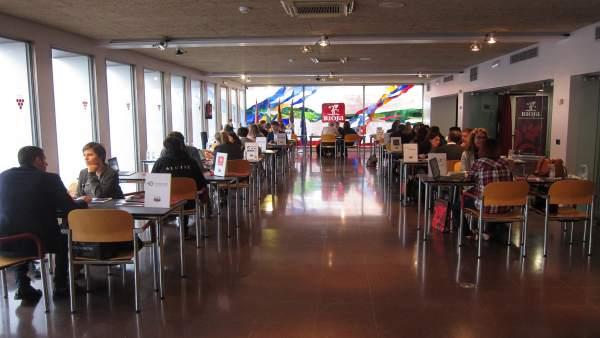 Imagen del workshop en la DOCa Rioja