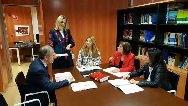 Reunión de este servicio de apoyo integral a los ayuntamientos de la DPZ