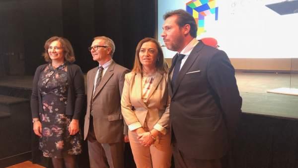 Valladolid. Ministro de Cultura en acto de la constitución