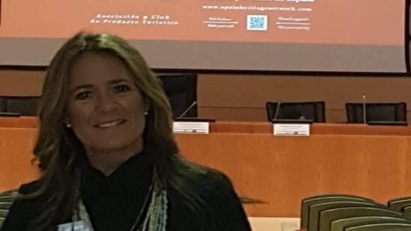 Morales de Coca en la asamblea del Producto Turístico de Castillos y Palacios.