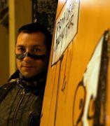 Artista callejero de la basura