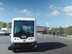 Un autobús sin conductor circulará por el centro de Madrid