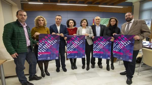 Presentación de la campaña de la Junta para el Día contra la violencia de género