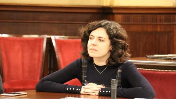 La diputada del PP Sandra Fernández