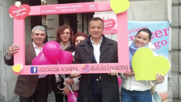 Presentación de la campaña de Aldaima