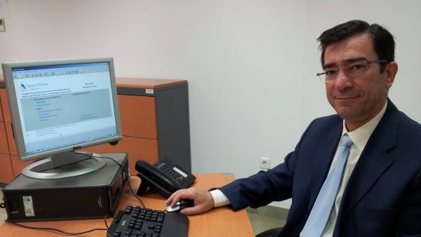 Antonio Paredes, experto tributario de los Técnicos de Hacienda (Gestha)
