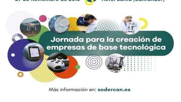 Cartel de la jornada organizada por Sodercan