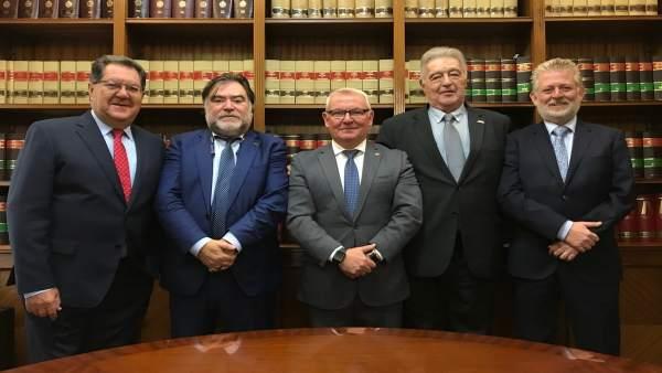 El presidente del CGAC, Manuel Maestre