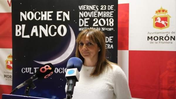 La delegada de Cultura y Turismo, Rosi Andújar