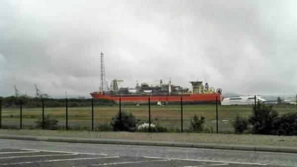 Vertido de petróleo en Canadá