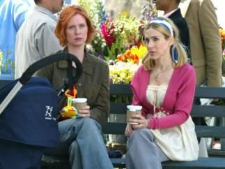 Sarah Jessica Parker en la quinta temporada de 'Sexo en Nueva York' (2002)