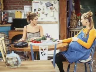 Lisa Kudrow en la cuarta temporada de 'Friends' (1997-1998)