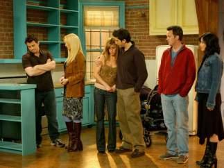 Courteney Cox en la décima temporada de 'Friends' (2003-2004)