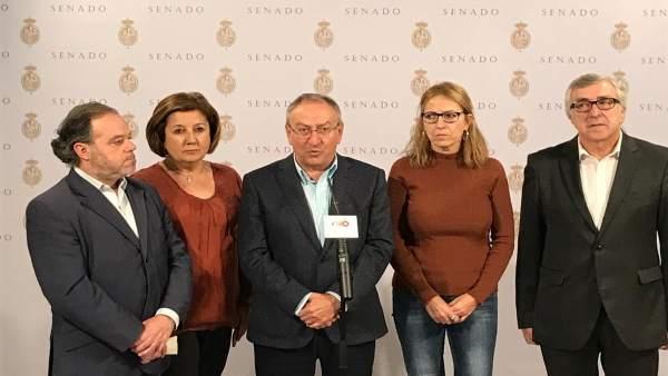 Valladolid. Declaración de Senadores Socialistas sobre Cosidó