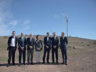 Inauguración de parques eólicos de Naturgy en Gran Canaria