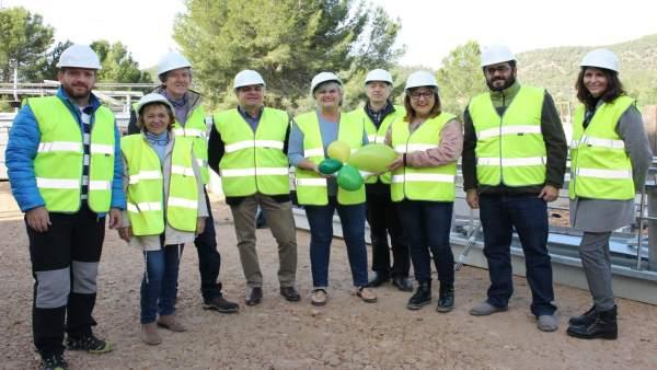 Bel Busquets (vicepreisdenta del Govern) y Vidal (conseller Medio Ambiente)