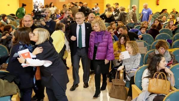 Díaz Tezanos inaugura el congreso de Infancia y Familias