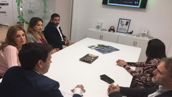 José Fiscal visita la empresa GTA.