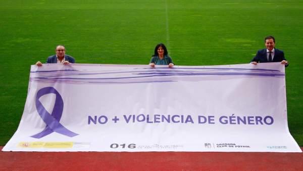 Presentación de campaña contra la violencia de género