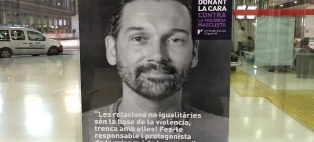Veinticinco hombres dan la cara contra la violencia machista en la campaña del Consell de Mallorca ...