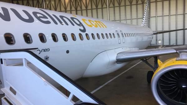 Avión Airbus A320neo de Vueling
