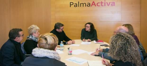 PalmaActiva se reúne con agentes sociales para trabajar el fomento de la contratación de personas ...