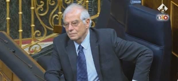El Diario de Sesiones del Congresono describe el escupitajo denunciado por Borrell