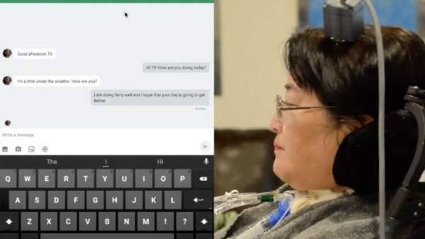 Una interfaz cerebro-ordenador permite a personas paralizadas usar una tableta