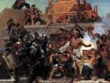 Storming of the Teocalli by Cortez and His Troops