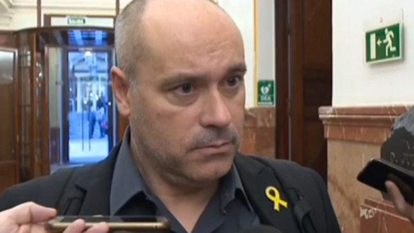 """Jordi Salvador: """"No hubo ningún escupitajo"""""""