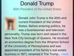Siri confunde a Trump con un pene