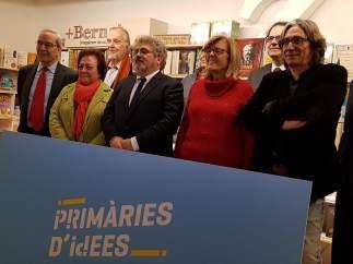 Miembros de la asociación 'Compromís per Barcelona'.