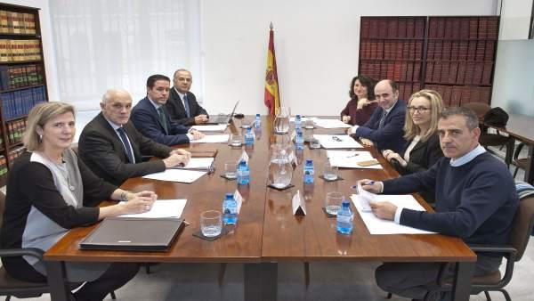 Imagen tomada al comienzo de la reunión.