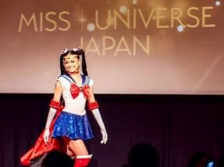 Miss Japón competirá en el concurso de Miss Universo vestida de 'Sailor Moon'