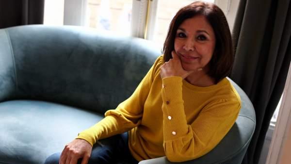 Isabel Gemio, en un momento de la entrevista con 20MINUTOS.