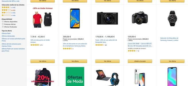 Black Friday en Amazon