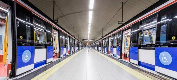 Andén Metro de Madrid