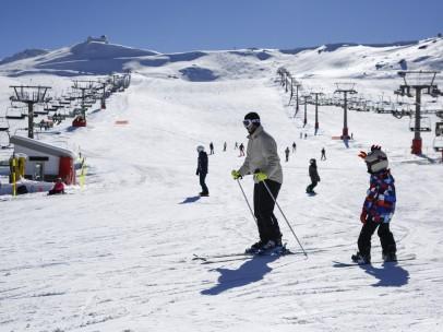 Temporada de esquí en Sierra Nevada