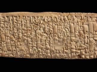Tablilla cuneiforme