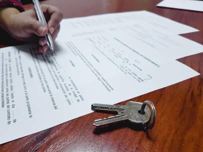 Firma de una hipoteca